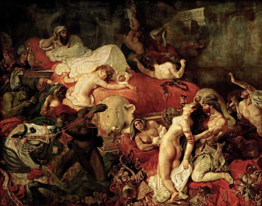 Sardanapals död