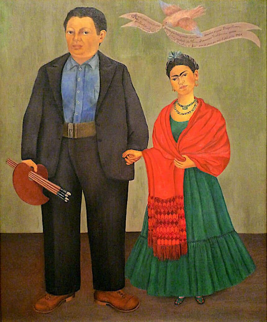 Frieda and Diego Rivera