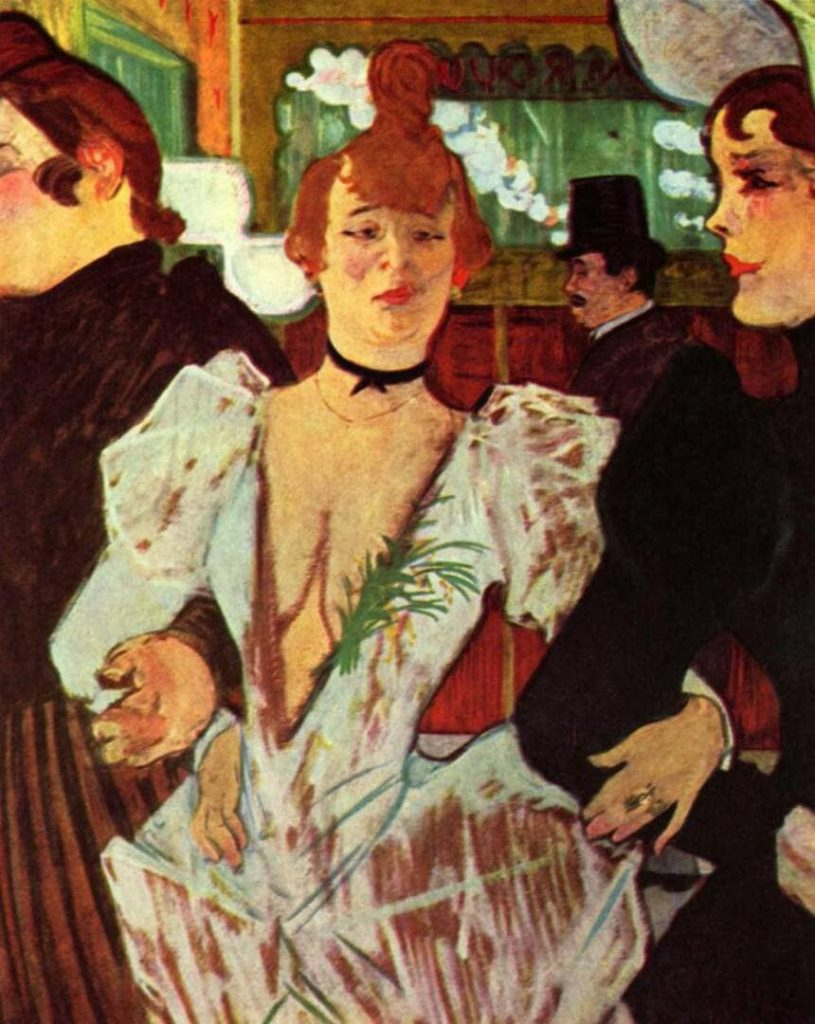 La Goulue Entering the Moulin Rouge