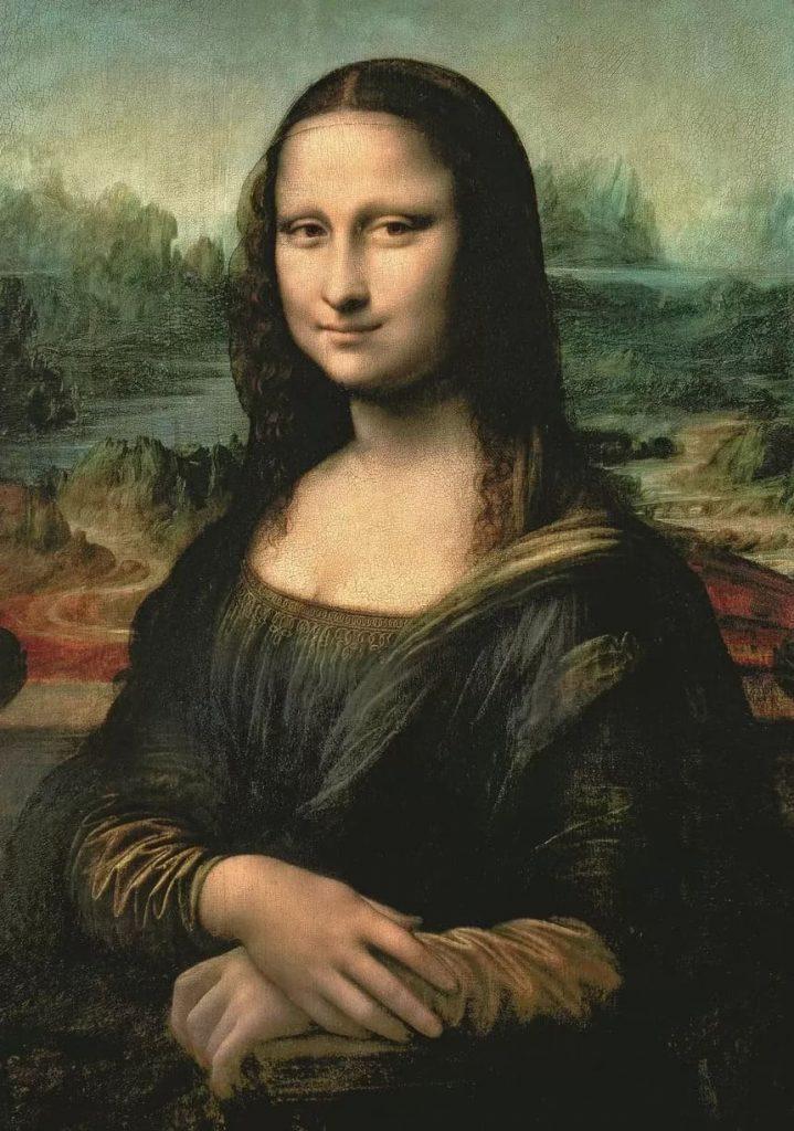 Mona Lisa av konstnären Leonardo da Vinci