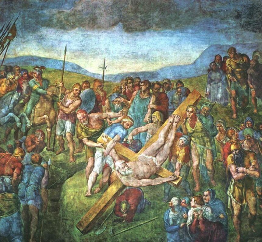 Petri korsfästelse