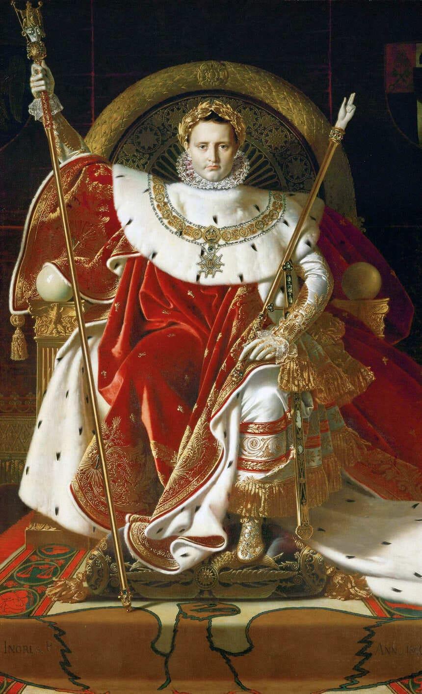 Napoleon I på kejsartronen
