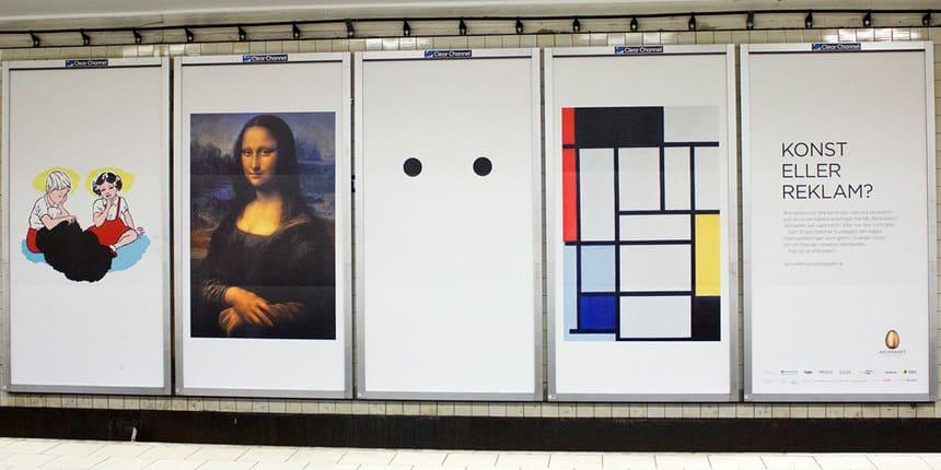 Konst eller reklam